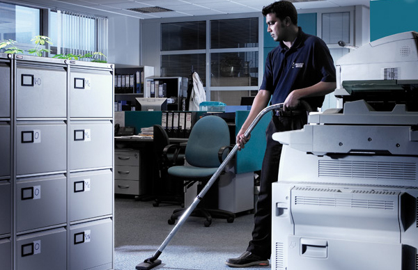 office cleaning bcj